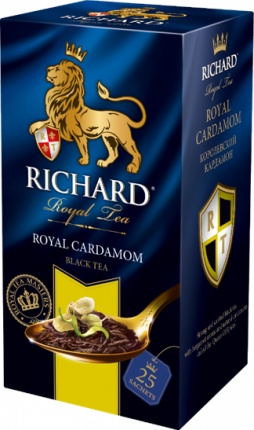 Чай Richard Royal Cardamom черный с добавками 25 пакетиков