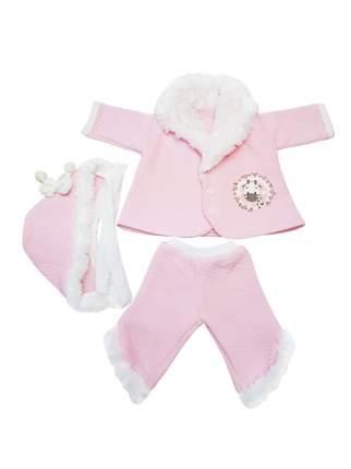 Комплект для куклы Колибри 303 белый,розовый