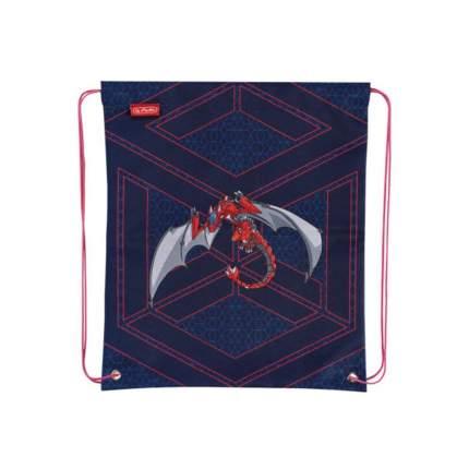 Мешок для обуви Herlitz 50014613-4 Red Robo Dragon