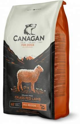 Сухой корм Canagan Gf Grass Fed Lamb для собак всех пород (Ягненок, 12 кг)