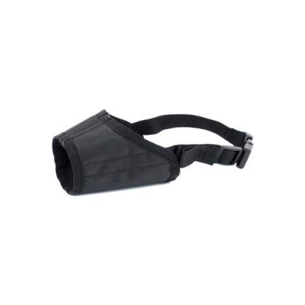 Намордник для собак Дарэлл ЧИП №2, нейлон, черный, 15 см