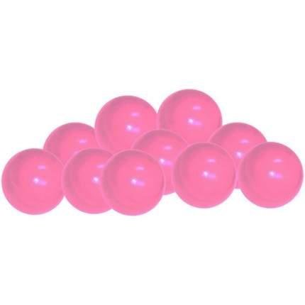 Шарики для манежа-бассейна Leco диаметр 7,5 см розовые, 320 шт.