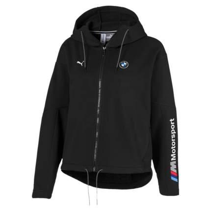 Женская толстовка Puma BMW Motorsport Hooded Full Zip 59572201 черный M
