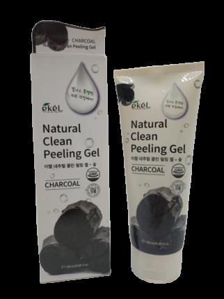 Пилинг-гель для лица с экстрактом древесного угля Ekel Peeling Gel Charcoal 180 мл