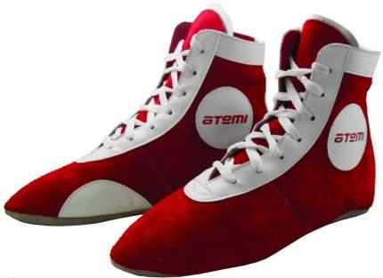 Самбовки Atemi ASSS01, красные/белые, 37