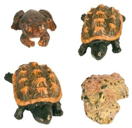 Грот для аквариума TRIXIE Frogs and Tortoises Черепахи и лягушки, в ассортименте 5х3,5х9см