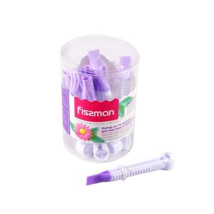Щипцы кухонные Fissman 8465 Фиолетовый