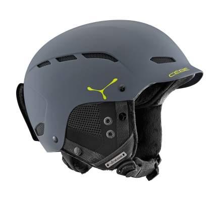 Горнолыжный шлем Cebe Dusk 2018, темно-серый, S