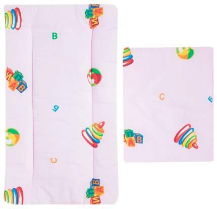 Комплект в коляску Leader Kids «Детские игрушки» GL000608873, бязь, Розовый