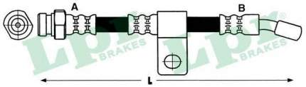 Тормозной шланг Lpr 6T48084