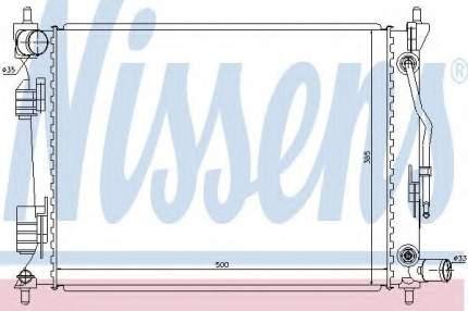 Радиатор Nissens 66757