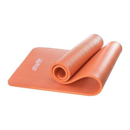 Коврик для йоги Starfit FM-301 NBR УТ-00008851 оранжевый 15 мм