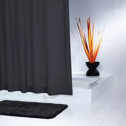 Штора для ванных комнат Madison черный 180*200