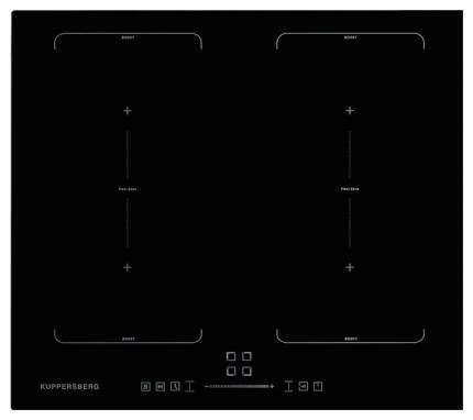 Встраиваемая варочная панель индукционная KUPPERSBERG ICS 624 Black