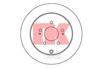 Тормозной диск Nk 203053 задний