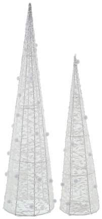 Световая фигура Frank Снежные купола с подсветкой 2 штуки 06577