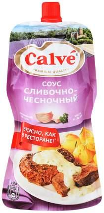 Соус Calve сливочно-чесночный для мяса 230 г