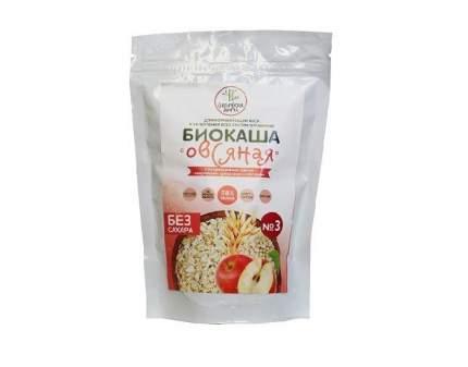 Биокаша №3 овсяная Сибирская Диета с овсом, кедровыми орешками и  яблоком 220 г