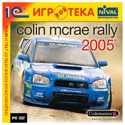 Игра для PC Colin McRae Rally 2005