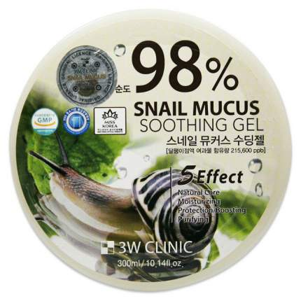 Крем для тела 3W Clinic Snail Soothing Gel 300 мл