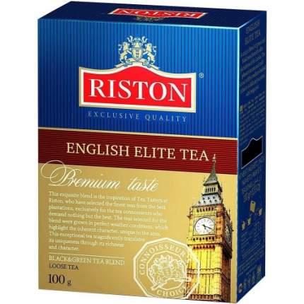 Черный листовой чай Riston элитный английский 100г