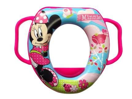 Накладка на унитаз keeeper мягкая DISNEY Минни розовая