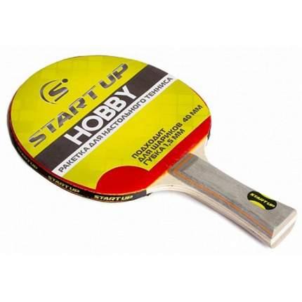Ракетка для настольного тенниса Start Up 9850 Hobby 0Star, красная