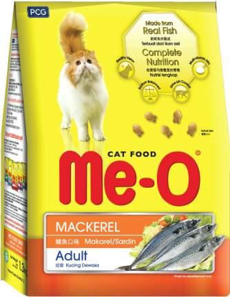 Сухой корм для кошек Ме-О Complete nutrition Adult, скумбрия, 35шт по 200г