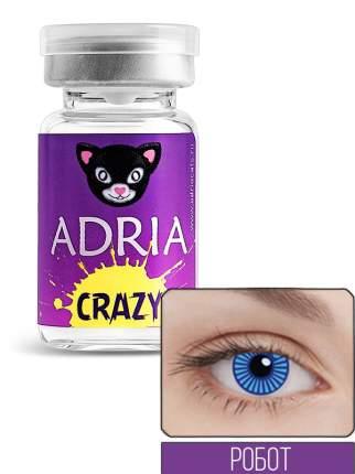 Контактные линзы ADRIA CRAZY 1 линза 0,00 robot