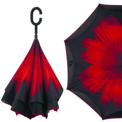 Зонт-трость механический Flioraj 120015/2 черный