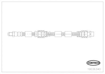 Шланг тормозной системы CORTECO 19036340
