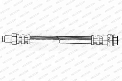 Шланг тормозной FERODO FHY2304