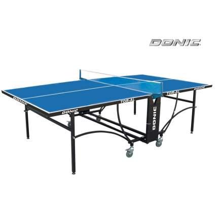 Теннисный стол Donic Tornado-AL-Outdoor синий, с сеткой