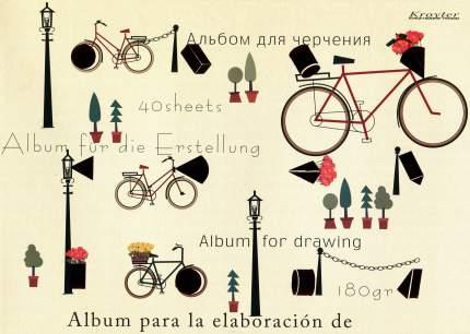 Альбом для черчения Kroyter 40 листов А4