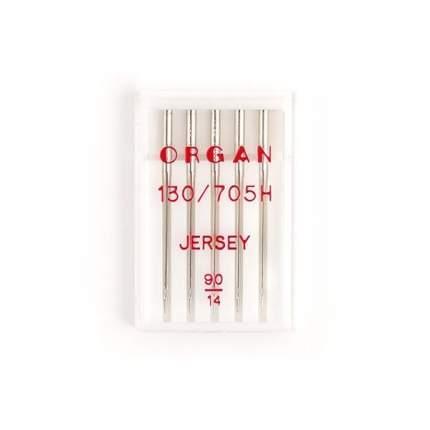 """Иглы """"Organ"""" джерси №90 для БШМ упак,5 игл"""