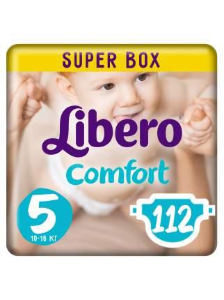 Подгузники Libero Comfort Size 5 (10-16кг), 112 шт.