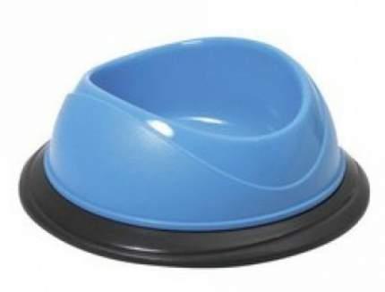 Одинарная миска для кошек и собак Georplast, пластик, в ассортименте, 0.5 л
