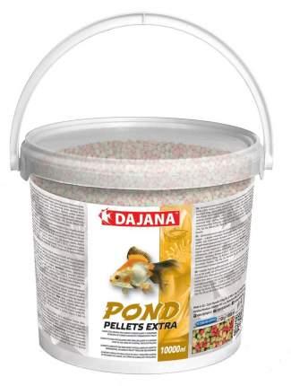 Корм для прудовых рыб Dajana Pond Pellets Extra, палочки, 5 л