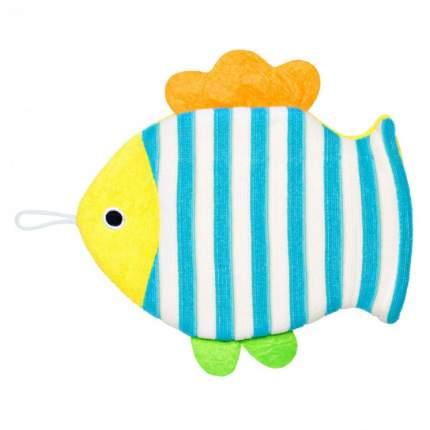 Махровая мочалка-рукавичка для купания Roxy-Kids Рыбка