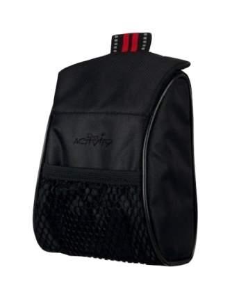 Сумка для лакомств TRIXIE полиэстер 13х7, с карманом, черный