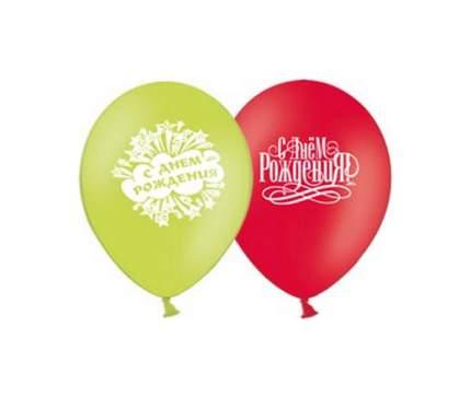 Шарик надувной Belbal С днем рождения в ассортименте, арт. 1103-0690