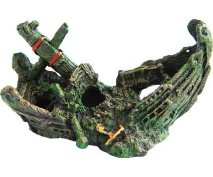 Декор для аквариумов FAUNA INTERNATIONAL Ладья 20,5х10х12см пластик