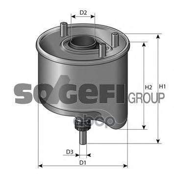 Фильтр топливный PURFLUX CS762