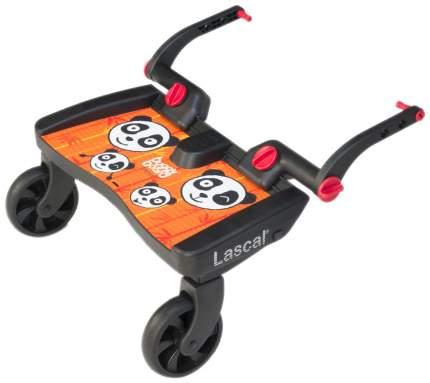 Подножка Lascal BuggyBoard Maxi к коляске Panda Jungle Оранжевая