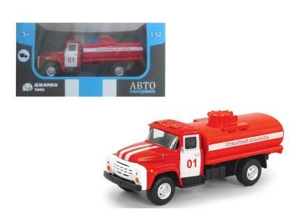 Машинка металлическая Автопанорама Пожарная команда, красная, 1200100