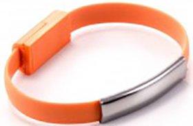 Кабель-браслет Gmini GM-WDC-200O miniUSB Orange