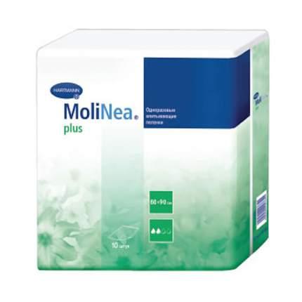 Впитывающие пеленки MoliNea 60 х 90 см 10 шт.