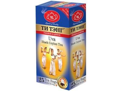 Чай черный в пакетиках для чашки Ти Тэнг Uva 25*2.5 г
