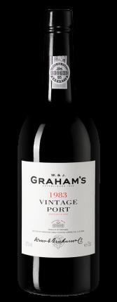 Портвейн Graham's Vintage Port, Graham`s, 1983 г.