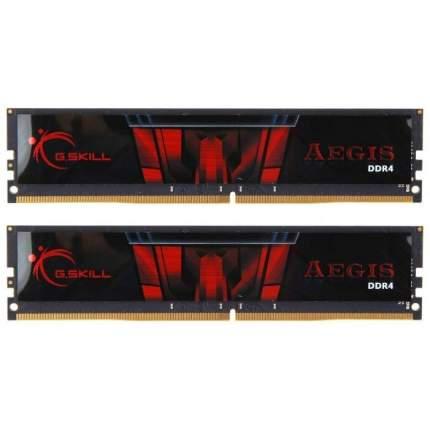 Оперативная память G.Skill Aegis DIMM DDR4 32768Mb 2666Mhz (F4-2666C19D-32GIS)